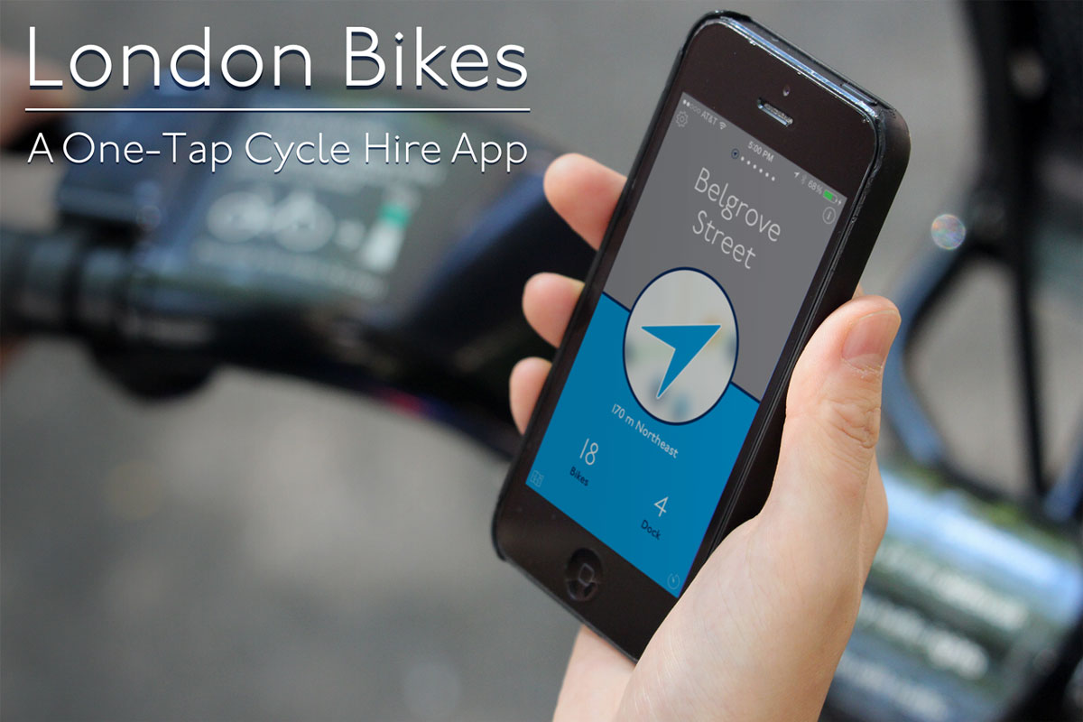 NYC Bikes Screenshot